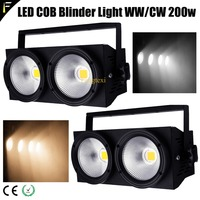 2 Pieces Compact Warm / Cold Blinders Lamp Device Lighting Theater Opera Show Light 3200k 6500k Colors Washer Lampen Freeship