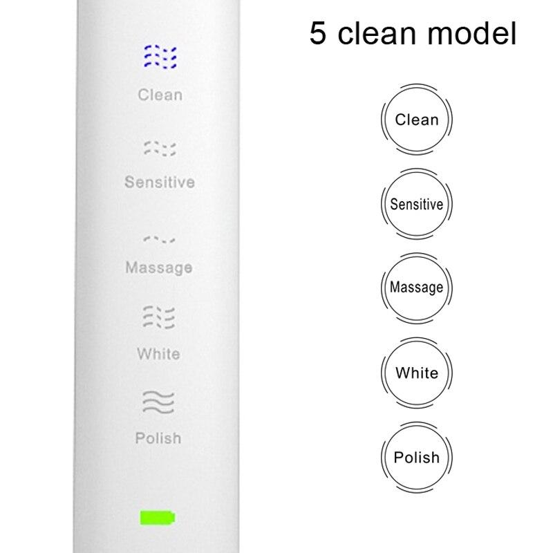 Купить электрическая зубная щетка sarmocare s100 5 моделей с 4 насадками