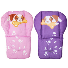 Baby Stroller Cushion Floor Mat Breathable Stroller Full Cotton Thickening Baby Carriage Umbrella Cart Trolley Cartoon Cushion