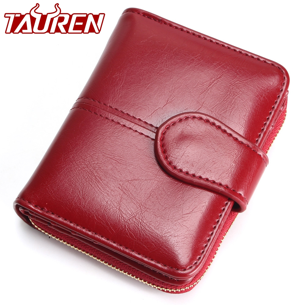 Tauren Women Fashion Red Purse Female Wallet Leather Pu Multifunction Purse Small Money Bag Coin Pocket Wallet Top Quality ! цена