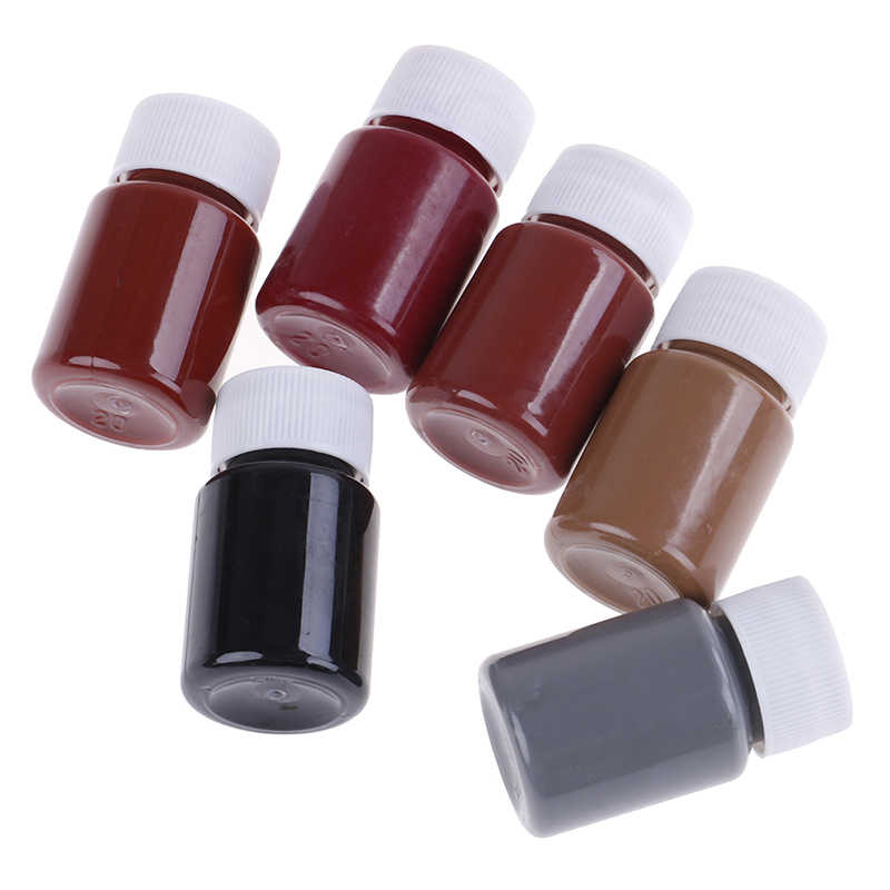 20 мл кожа цвет ing агент, кожаное пальто ремонт и изменение цвета, диван Восстановленный и цвет пасты для кожаной обуви, сумки