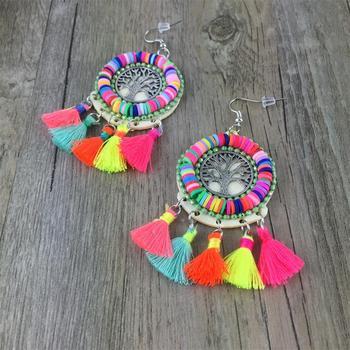 Ethnic Tree Of Life Earrings Jewelry Earrings