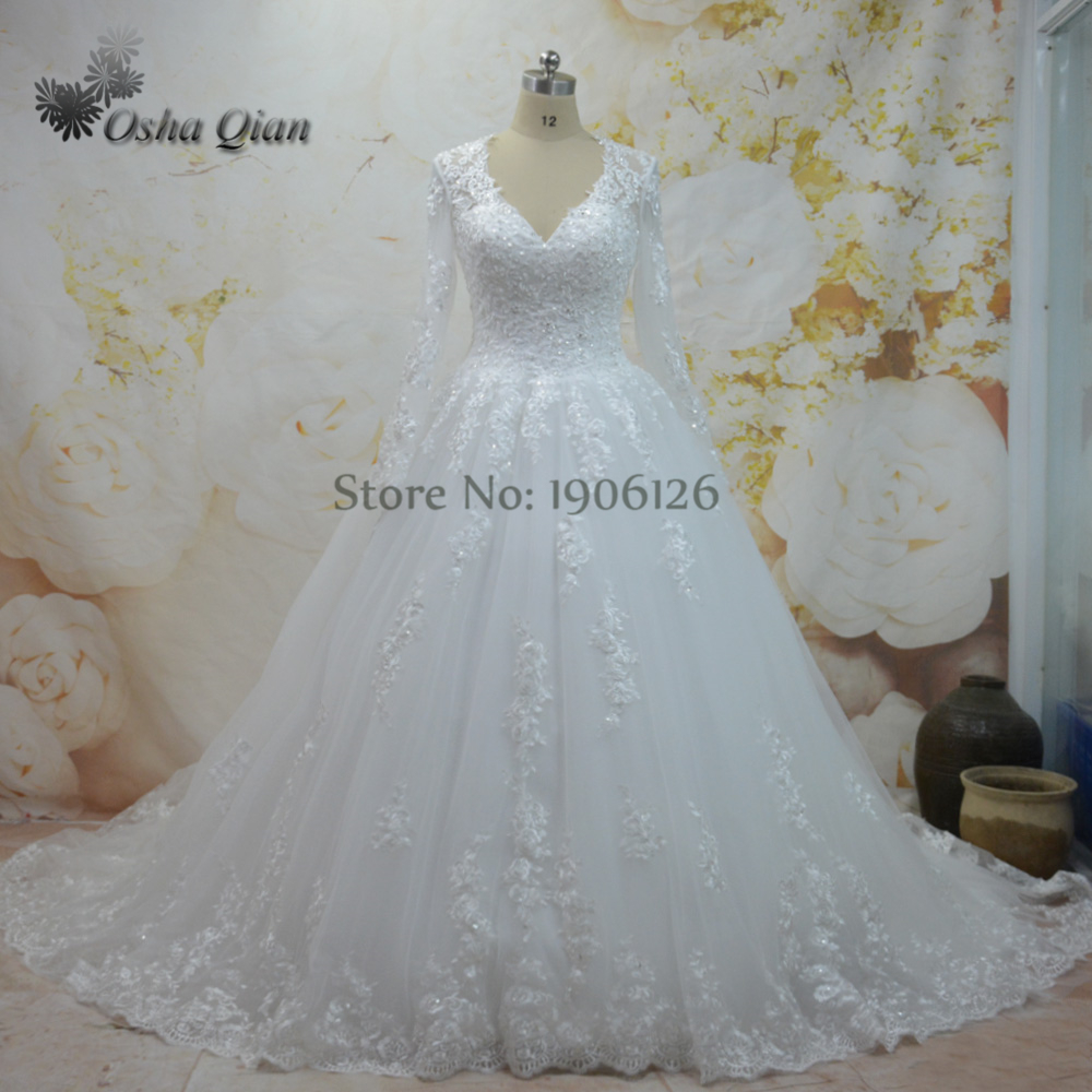 Online Shop China Off White Wedding Dresses Turkey Mordern Bridal ...