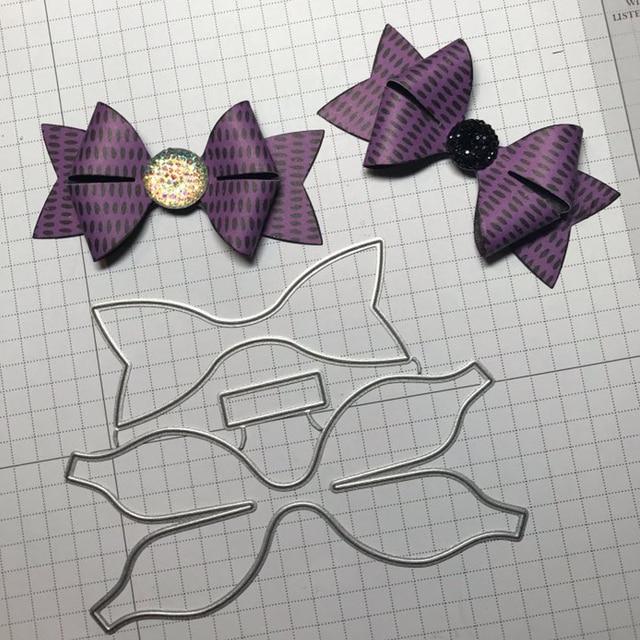 Adv-one METAL CUTTING DIES Cut Building 3D bow Wedding Scrapbooking envelope paper craft Blade frame Background embossing Die