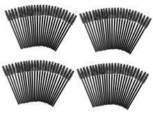 High Quality Beauty Make up Set Kit of 100 Black Disposable Eyelash Mini Brushes Mascara Applicators