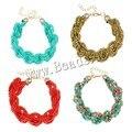 Moda Glass Seed Beads Bracelet Charm pulsera de los granos para mujeres de la joyería