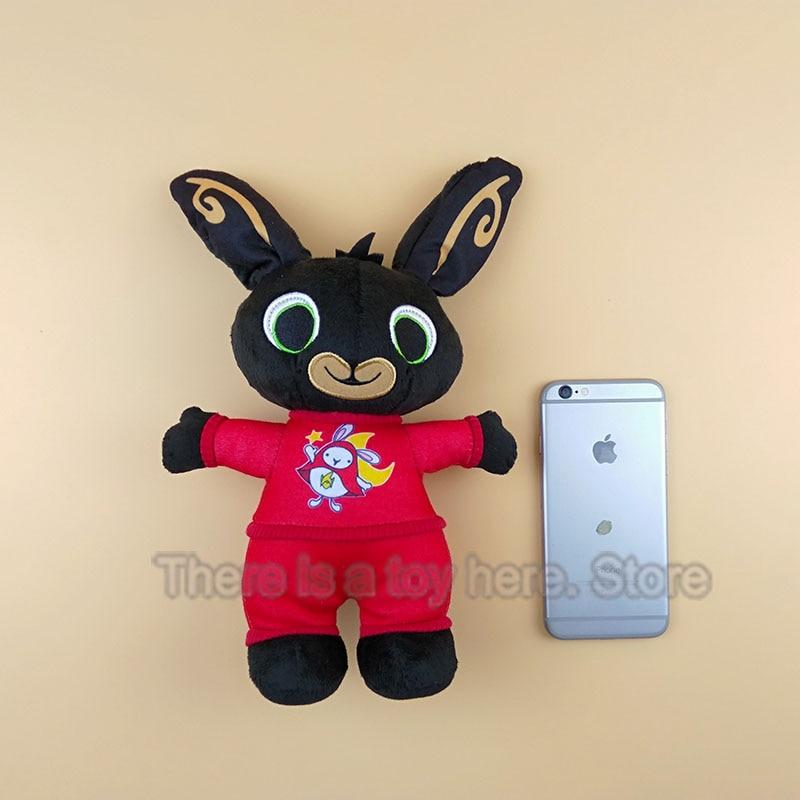 Nuovo arrivo bing peluche sula coniglio giocattolo bambola giocattoli farciti elefante coniglio animale morbido bing gli amici di giocattoli per i bambini regali
