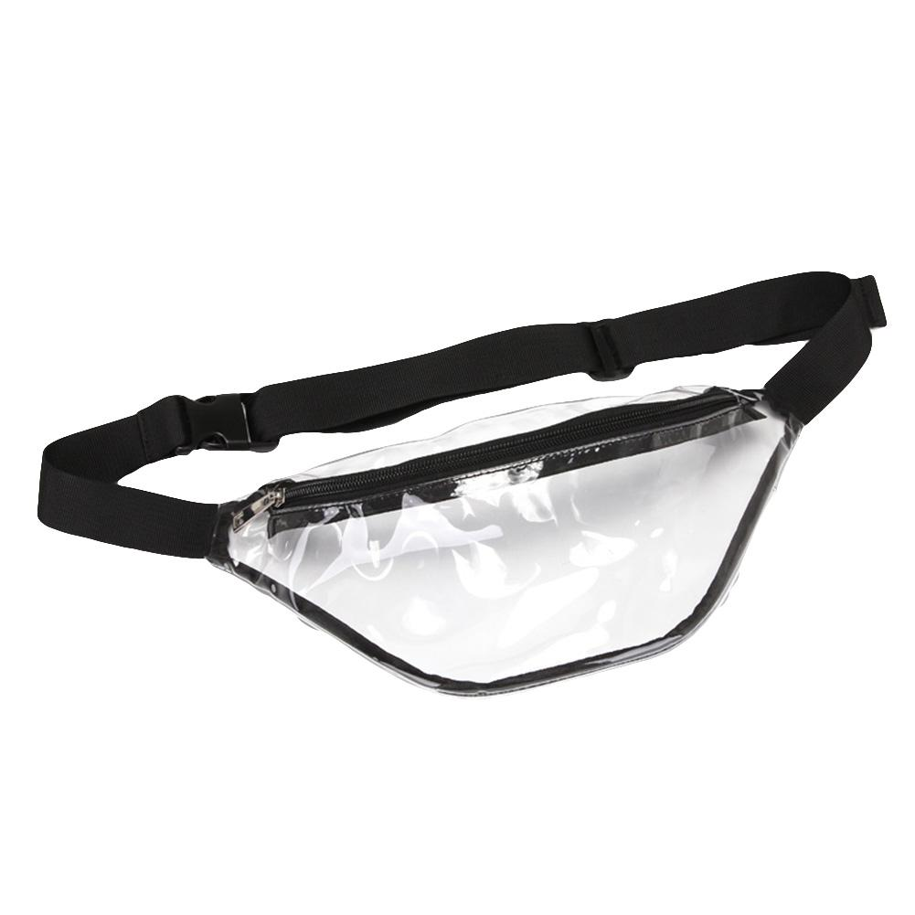 Unisex Transparent Waterproof Waist Chest Bag Purse Beach Adjustable Belt Pouch Pochete Marsupio Donna поясная сумка