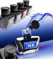 만년필 잉크 M & G 60 미리리터 유리 잉크 병 분수 펜 4 색 사무실 및 학교 문구 무료 배송