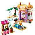10434 Жасмин Принцесса экзотический дворец строительные кирпичи блоки наборы Лучший подарок игрушки подходят lepining 41061 для девочек