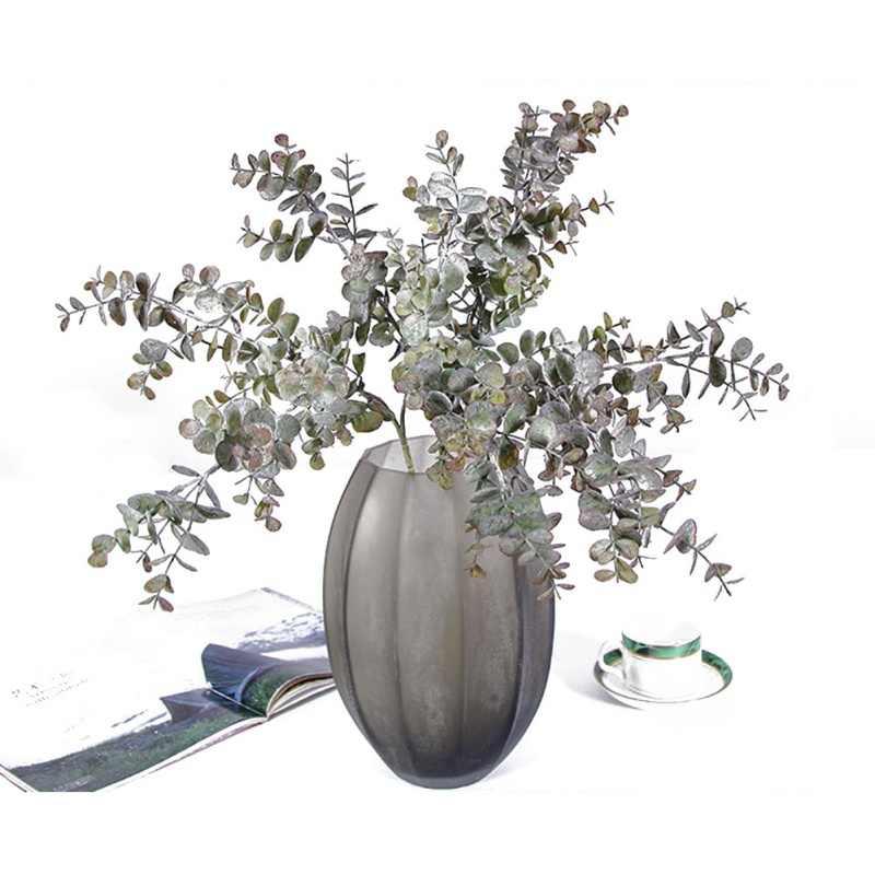 Искусственный эвкалипт украшение в виде ветки дерева для рождества свадьбы дома цветок сережки-гвоздики с листочками завод искусственный листва праздничные принадлежности