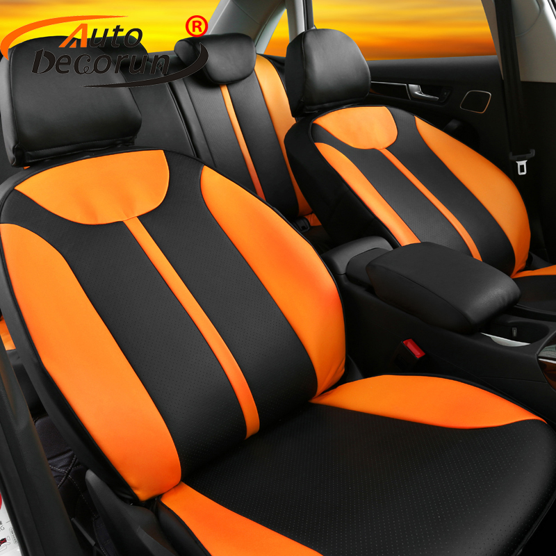 AutoDecorun PU leather auto cover seat for toyota venza 2010 car seat cover cushion custom fit seat supports accessories styling