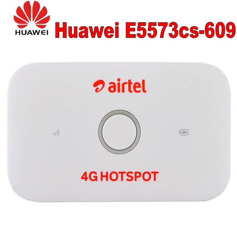 Lot of 10pcs New Original Unlocked LTE FDD 150Mbps 4G Pocket WiFi Router Huawei E5573 E5573Cs
