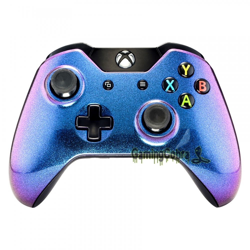 лучшая цена Glossy Chamillionaire Design Front Shell Faceplate for Xbox One Controller