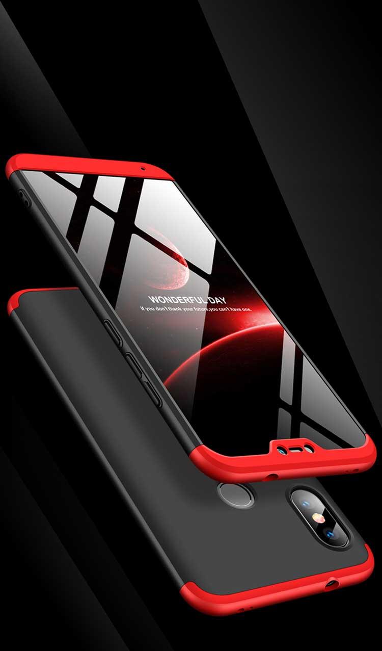 Case For Xiaomi Redmi 6 Pro Cover Armor 3 In 1 Full Protection Matte Cases For Xiaomi Redmi 6 Pro Phone Bags Redmi6 Shell