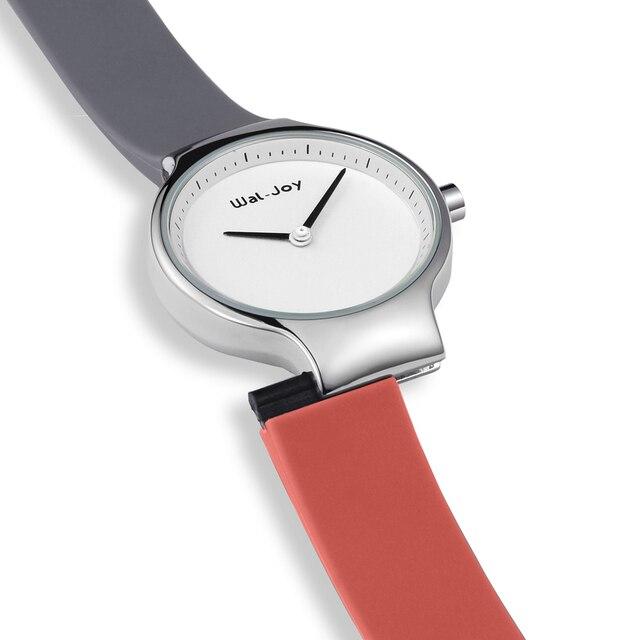 Wal-Joy 2018 Fashion Sport Silicone Watches Women Ladies Quartz creative wrist watch female Ultra Thin Clock moment female hour
