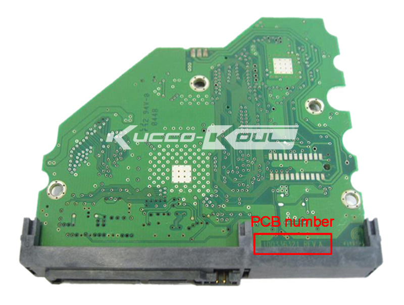 hard drive parts PCB logic board printed circuit board 100336321 for Seagate 3.5 SATA hdd data recovery hard drive repair