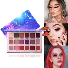 18 Colors Professional Make Up Glitter Eyeshadow Palette Matte Long-lasting Waterproof Eye shadow new