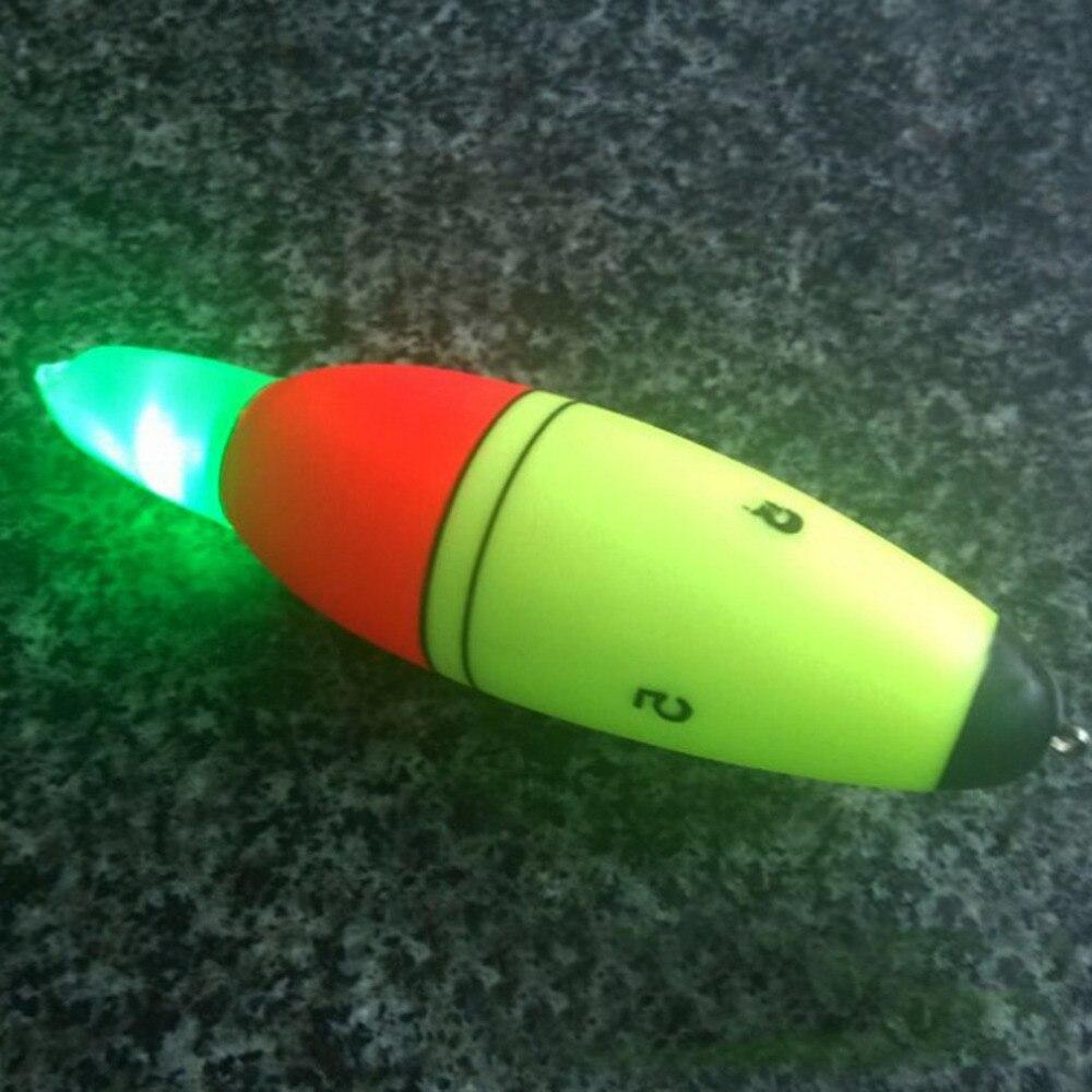 aba232e3b Luminous Fishing Float Boia Foam Type Led Fishing Light Stick Bobber Buoy  Electronic Glowing Night Fish Floats flutuador boia-in Fishing Float from  Sports ...