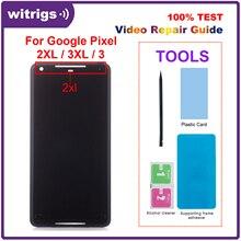 Dla Google Pixel 2 XL 2XL wyświetlacz LCD ekran dotykowy P OLED Digitizer zgromadzenie część zamienna dla Google Pixel 2 3 3 4 XL LCD
