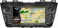 MTK3360 512Mb Faster Speed WINCE 6 0 Car DVD Player Gps For Mazda 5 Premacy 2009