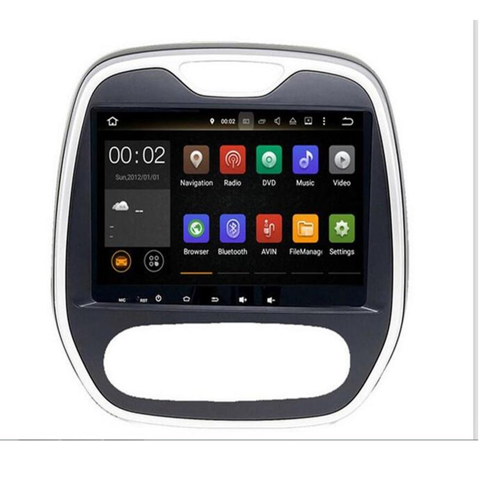 Android 9.0 pour Renault Captur CLIO Samsung QM3 manuel A/C 2011-2019 autoradio 2din GPS 9 pouces lecteur multimédia de voiture