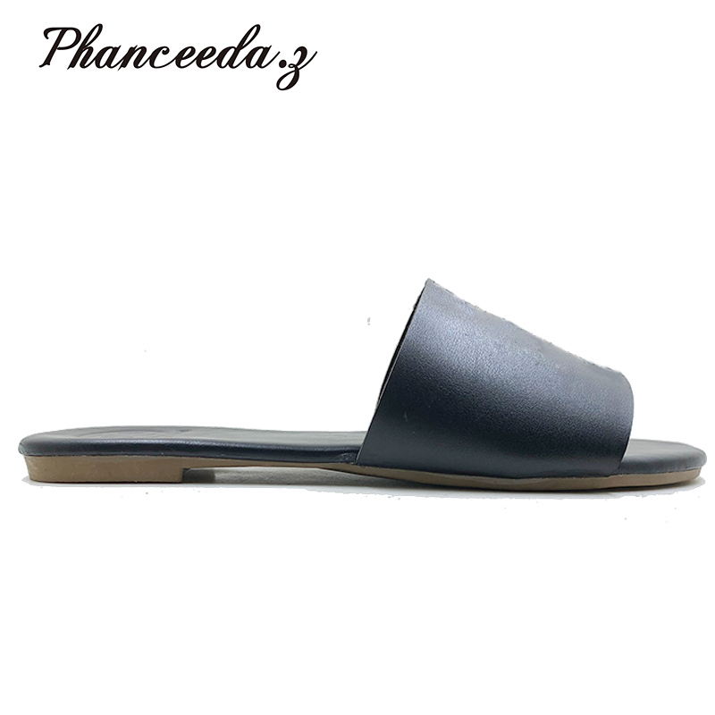 Nuevo 2019 de gran tamaño 6-11 Zapatos Sandalias de las mujeres zapatos de verano S zapatillas de moda las mujeres