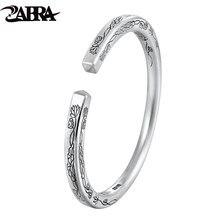 Zabra серебро 999 пробы браслет для открытия лотоса ювелирные
