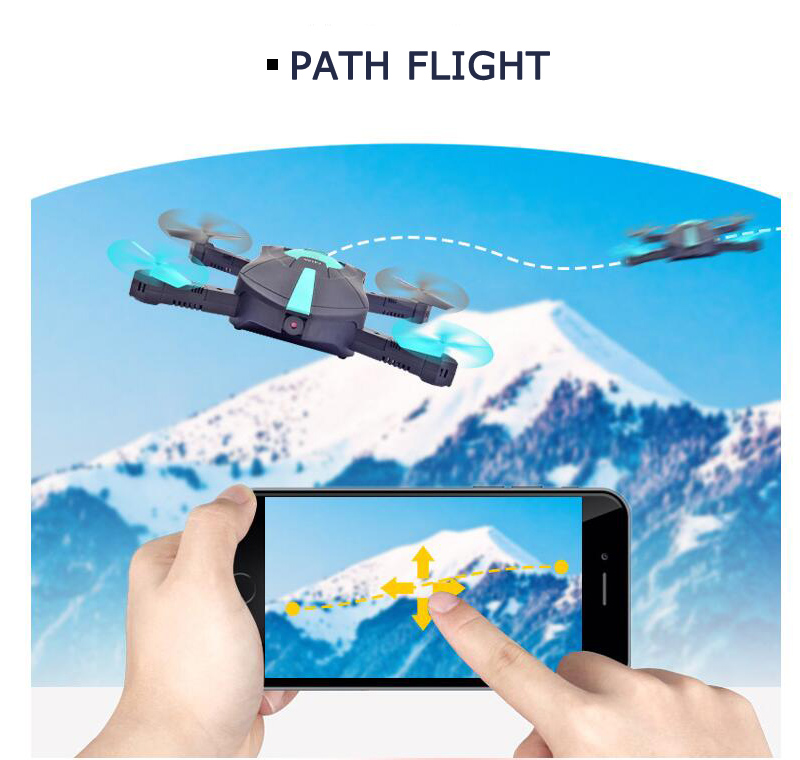 Quadcopter JY018 WIFI Foldable Mini Drone with Camera RC Helicopter Drones (15)