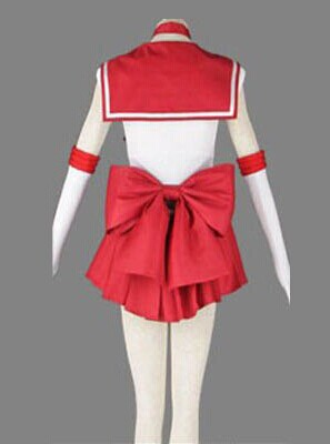 Sailor Moon Anime cosplay Sailor Mars Hino Rei Unisex Harajuku Halloween party cosplay costumes sets Can be customized-in Anime Costumes from Novelty & Special Use    2