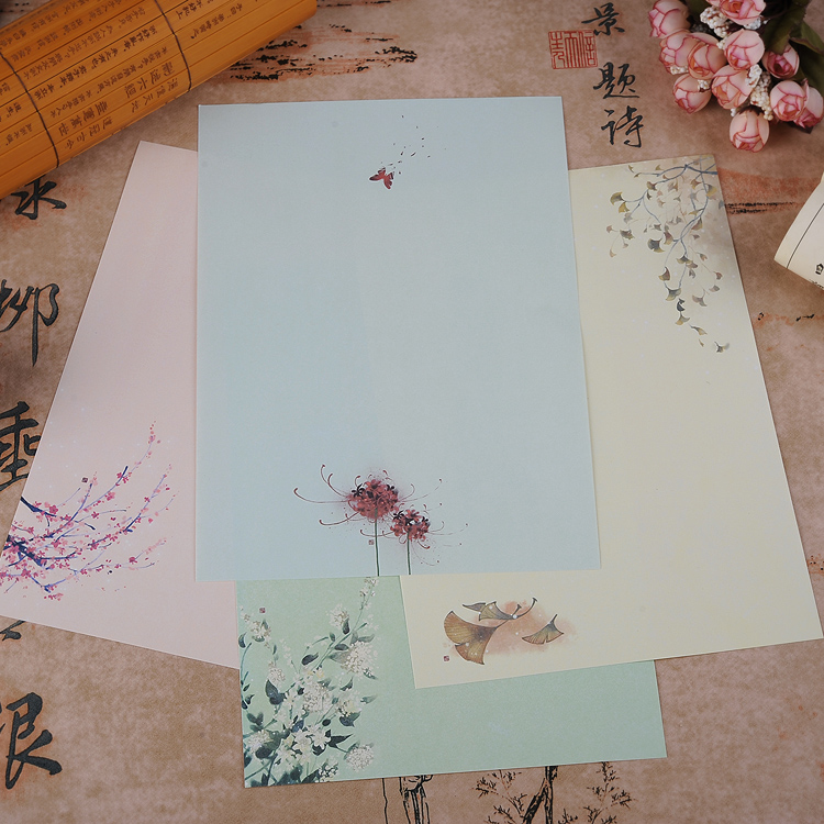 This is a graphic of Striking Nice Letter Paper