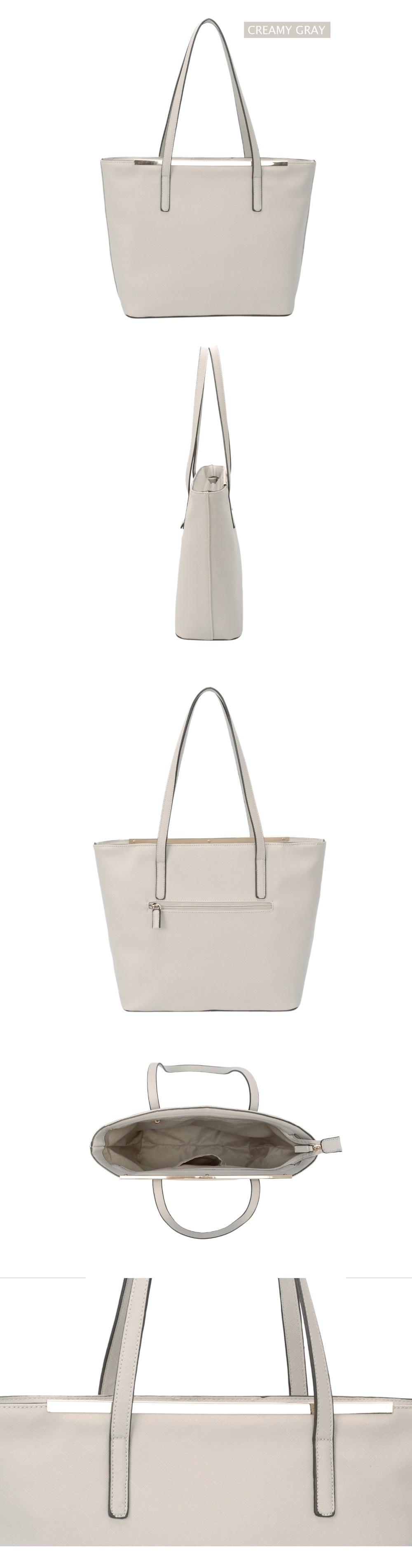 e982272b8eff DAVIDJONES Tote Bag Women Female PU Shoulder Bags Handbag Top Handle ...
