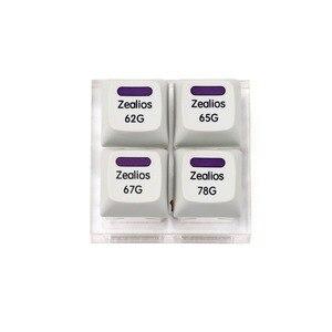 Image 2 - Interrupteur Zealios v2 interrupteur violet Zealio (Tactile) testeur de commutateur 62g 65g 67g 78g