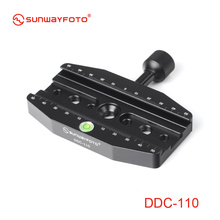 SUNWAYFOTO ddc-110 110 мм Винт-Ручка Release Зажим для штатива выравнивания База костюм для большого формата DLSR и телеобъектив