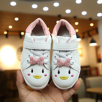 b7661ad8 2019 primavera nuevo bebé Niña Zapatos Bebé chico Zapatos de deporte para  niñas de dibujos animados arco zapatillas de deporte para 1-8 años zapatos  para ...