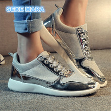2017 new  Hot Sale Running shoes for women Outdoor Sports Shoes Woman Sneakers Non-slip wedge lace-up Brand Walking Jogging n