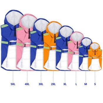 Impermeabile Per Cani Impermeabile Del Cane del Rivestimento del Cappotto Riflettente Impermeabile Del Cane Per Small Medium Cani di Taglia Grande Labrador S-5XL 3 Colori 1