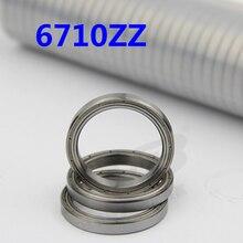 Высокое качество ультра-тонких радиальных шарикоподшипников 6710ZZ 50*62*6 мм