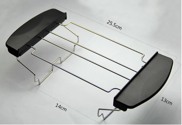 2/4 Pieces Bread Toaster Parts Stainless Steel Rack