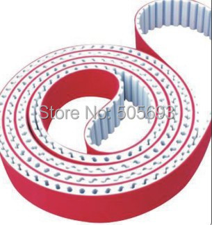 H typ PU connection round belt cover red rubber typ 660