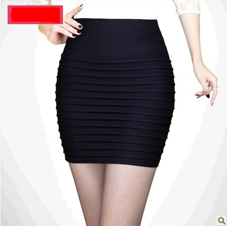 Online Shop Summer sexy pleated black short skirts 2015 fashion ...
