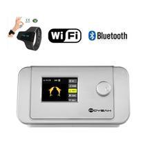 MOYEAH Bipap מכונת CPAP T 25A רפואי מכונה ציוד הנשמה עם אנטי לנחור שינה סיוע שעון & Wifi אינטרנט מחובר