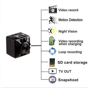 Image 2 - SQ10 Mini WiFi camera 1080P HD Remote playback video small micro cam Motion Detection Night Vision Home Monitor Infrared Night