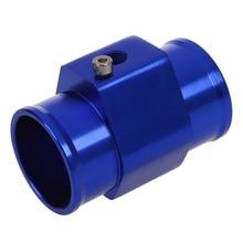 Температура воды температура Соединительный ДАТЧИК трубы Калибр Шланг радиатора адаптер 40 мм синий