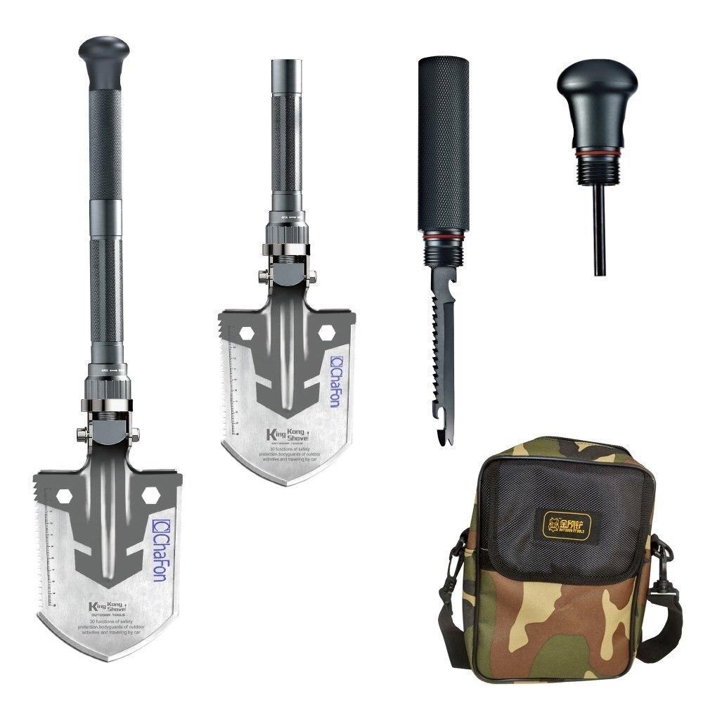 ФОТО Multifunctional Foldable Tactical outdoor Camping Survival Emergency Shovel - Sappers Shovel-Mercenaries Tool Kit Hiking Camping