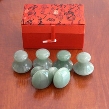 Wholesale & Retail Aventurine Acupuncture Massage Mushroom Tool
