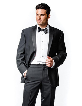 2018Spring Style Brand-clothing Groom Tuxedos Blazers Notch Lapel Men Suits Two Buttons Man Dress Terno Suits(Jacket+Pants+Tie)