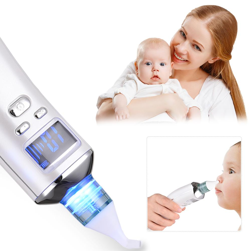 New 2018 Baby Nasal Aspirator Electric Nose Cleaner New Born Clean Suction for Boy Girls