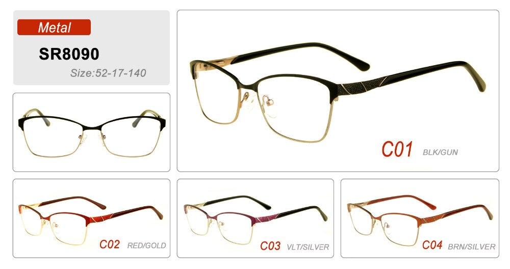 Augen wunder Großhandel Frauen Edelstahl Brillen Unisex Mode Metallrahmen  Gafas 8086 in Augen wunder Großhandel Frauen Edelstahl Brillen Unisex Mode  ... 5a790e0224