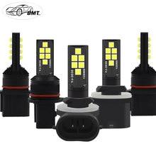 BMT PSX26W P13W LED h27w2 h27w/2 LED Bulb h27w 881 h27w1 h27w/1 Car led fog lights lamp cars daytime running lights DRL12V LED